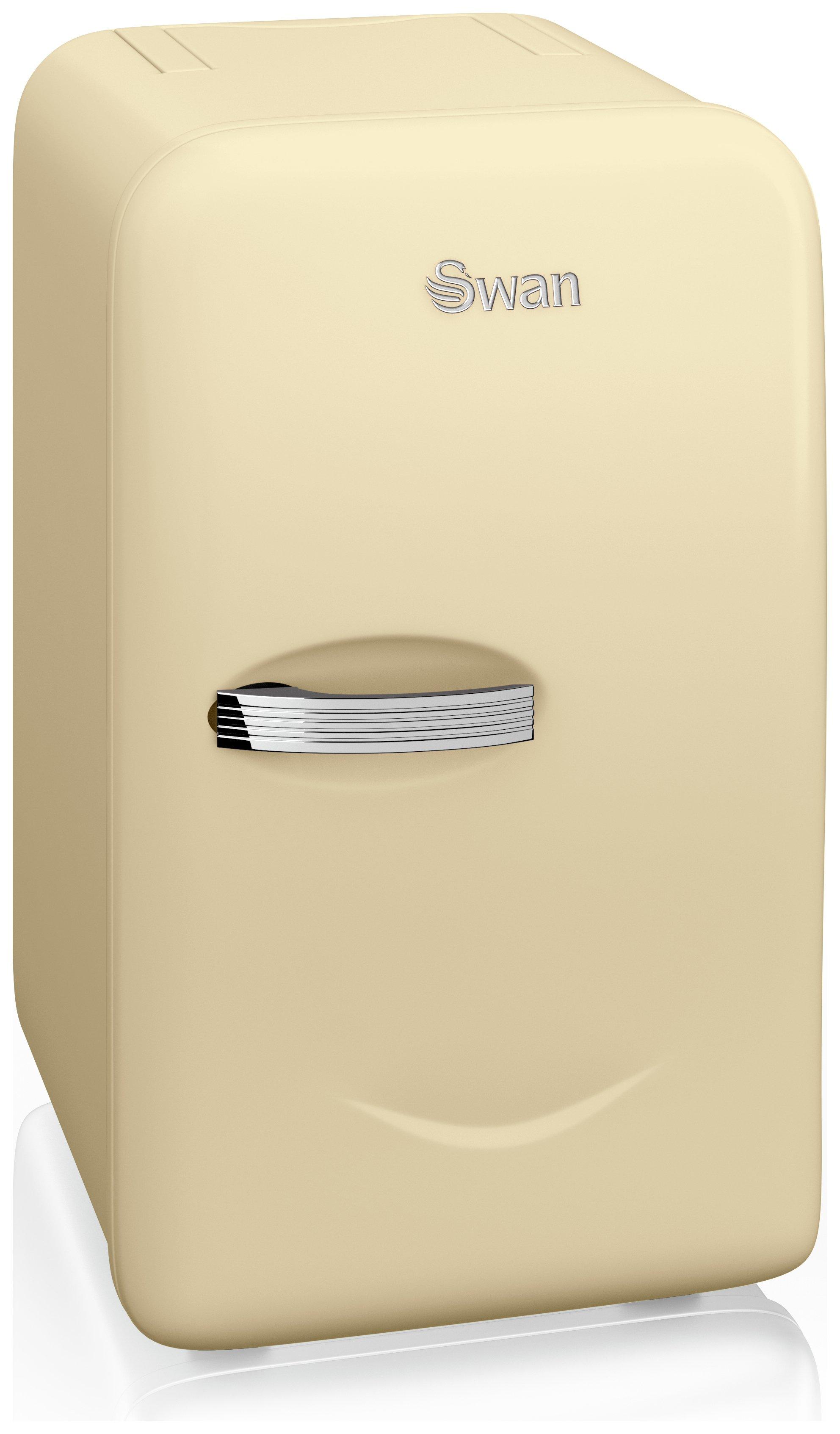 swan sre10010cn mini fridge cream. Black Bedroom Furniture Sets. Home Design Ideas