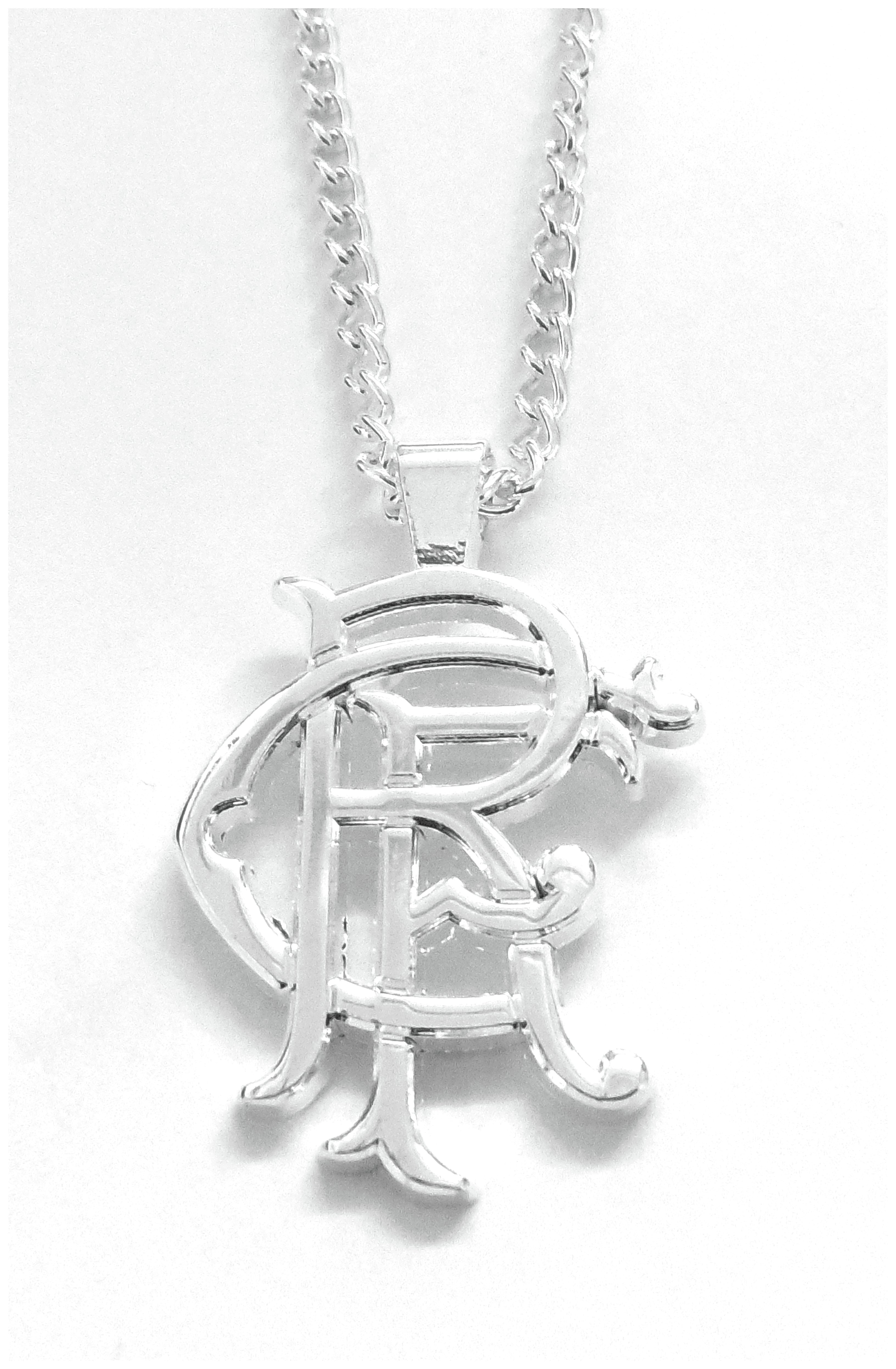 Image of Rangers FC - Silver Plated - Pendant and Chain