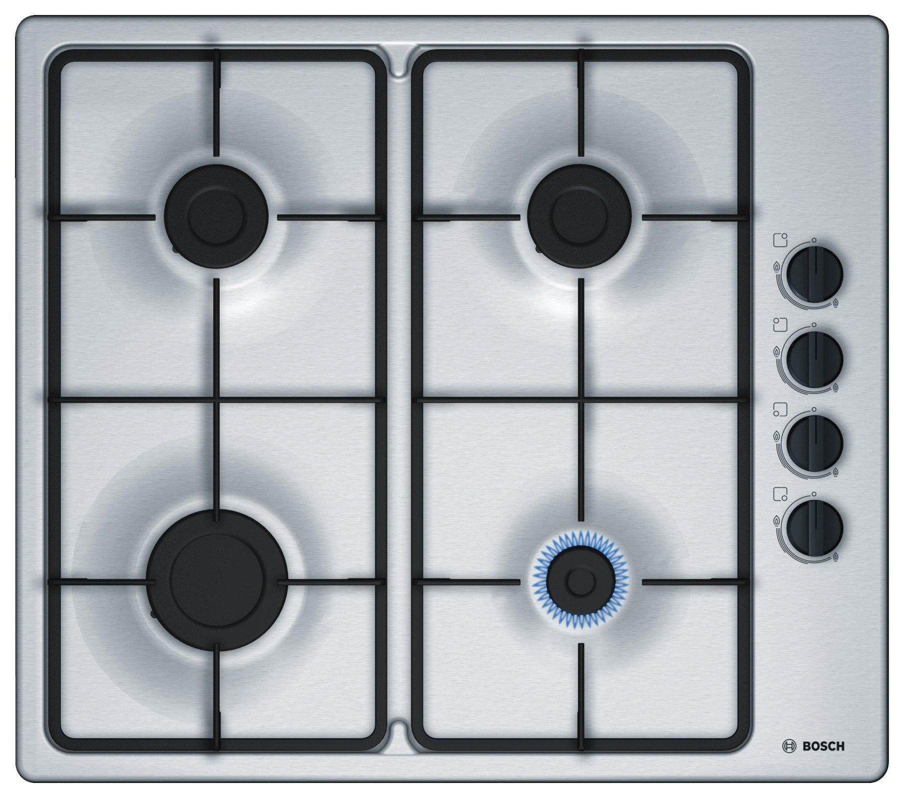 Image of Bosch - PBP6B5B60 - Gas Hob - Stainless Steel