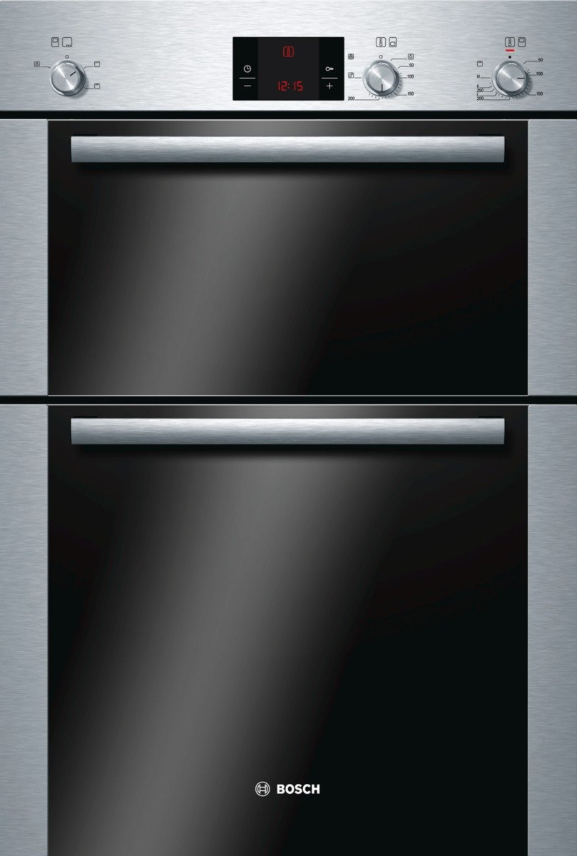 Bosch - HBM13B251B - Double Electric Oven - Stainless Steel