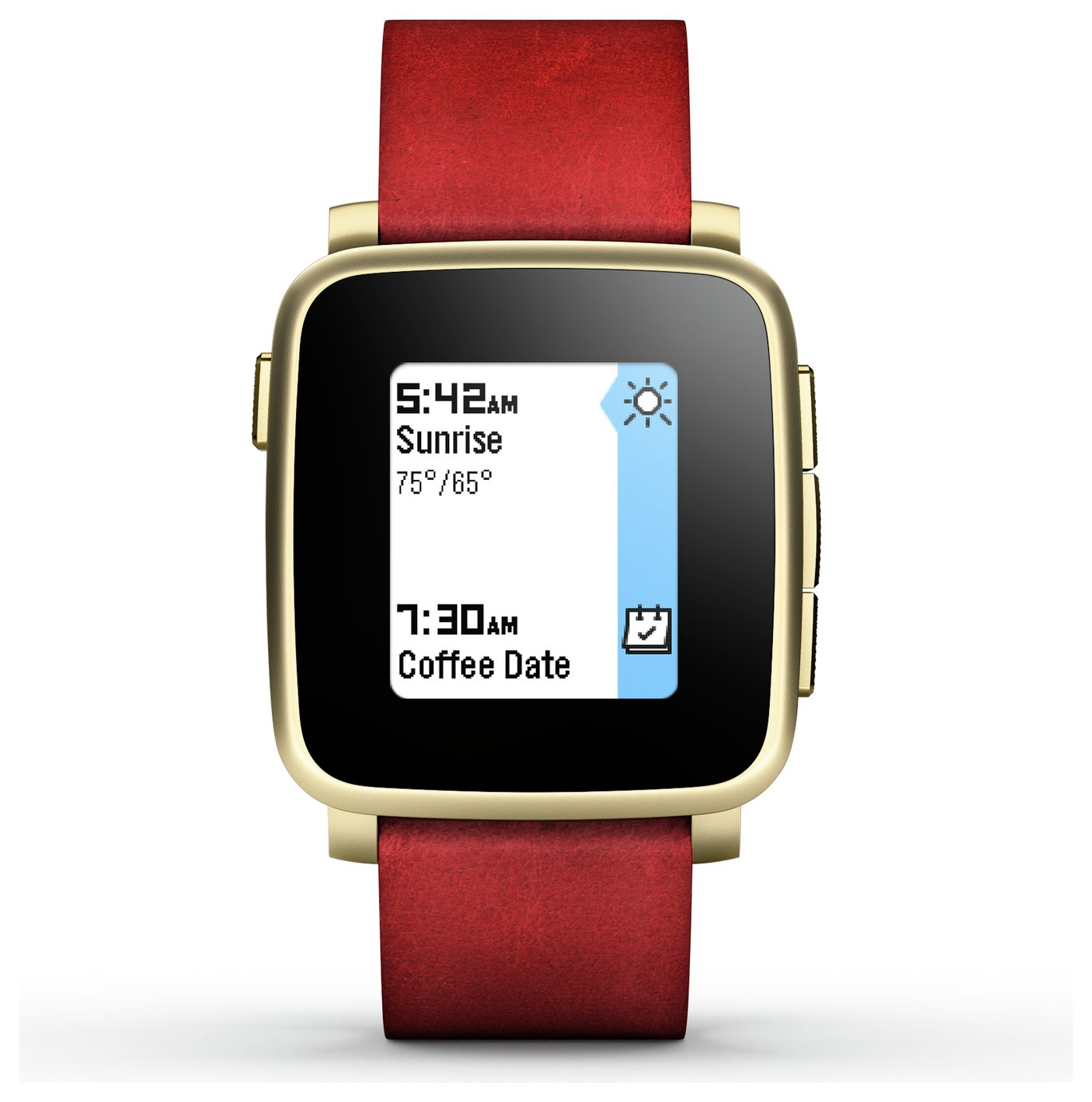 Pebble Pebble - Time Steel Fitness Smartwatch - Gold