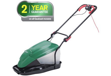Image of the Qualcast Corded Hover With Mulch And Collect Mower - 1800W.