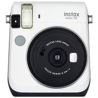 Fujifilm - Instax Mini 70 Camera with 10 Shots - White