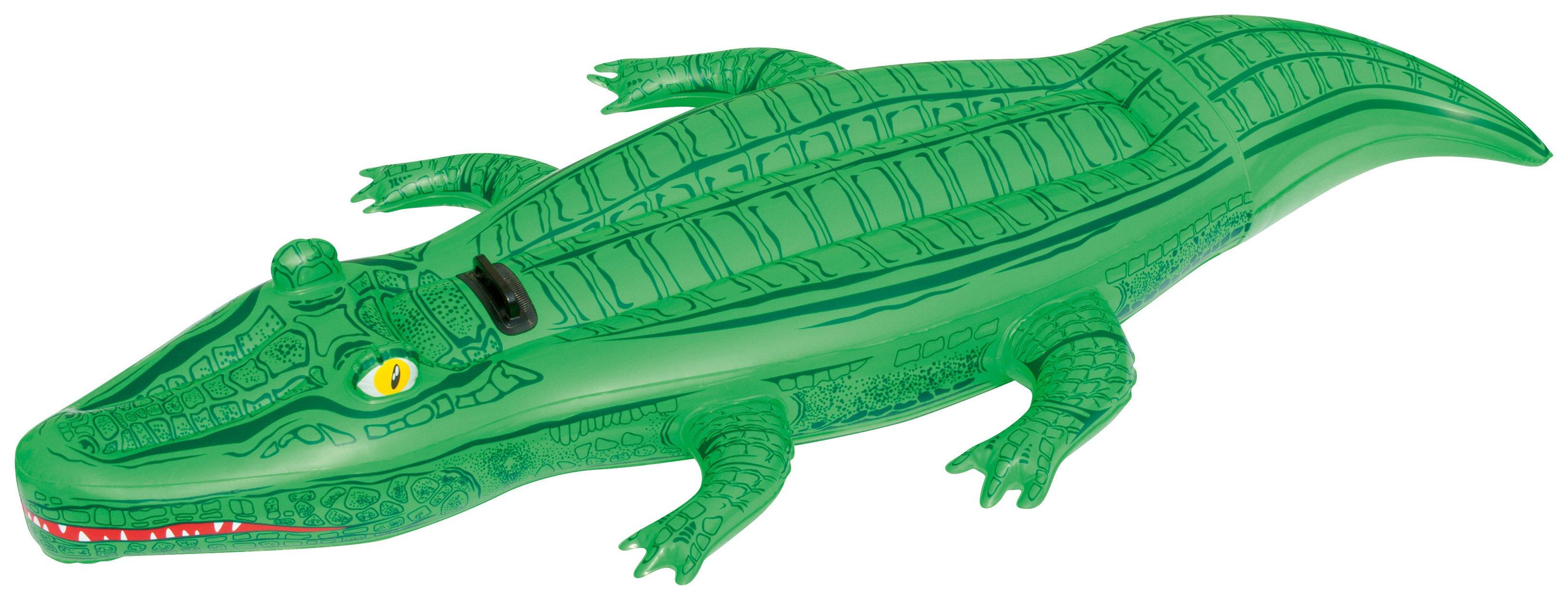 Image of Bestway 2.03cm Crocodile Ride-on.