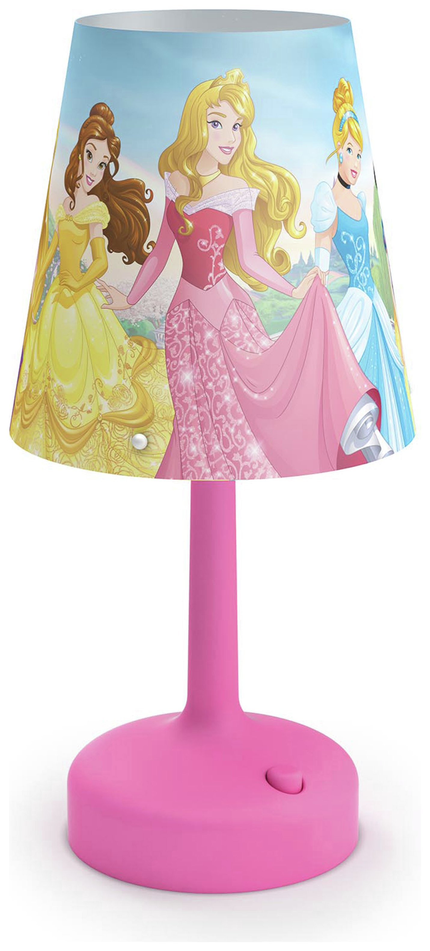 Image of Philips - Disney Princess - Table Lamp - Pink