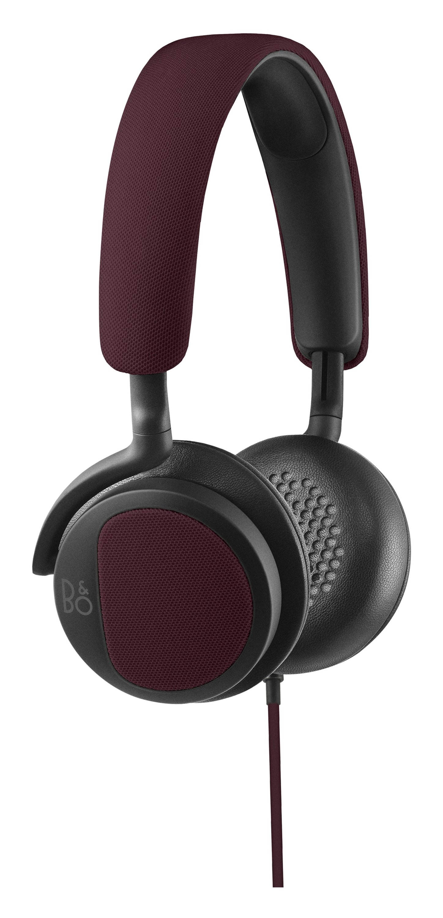Image of B&O PLAY by Bang & Olufsen H2 Headphones - Deep Red.