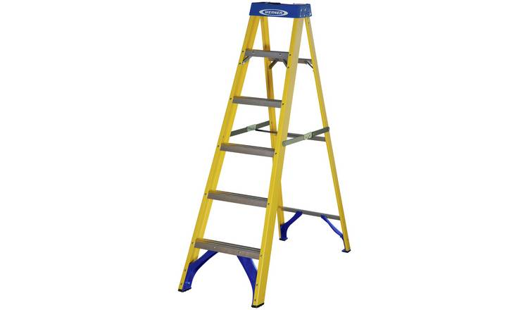 Werner 6 Tread Fibreglass Step Ladder