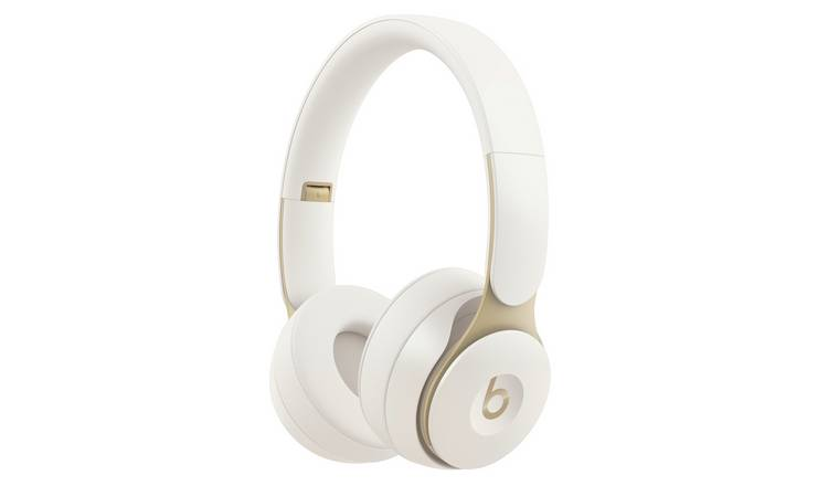 Beats by Dre Solo Pro On -Ear Wireless Headphones - Ivory