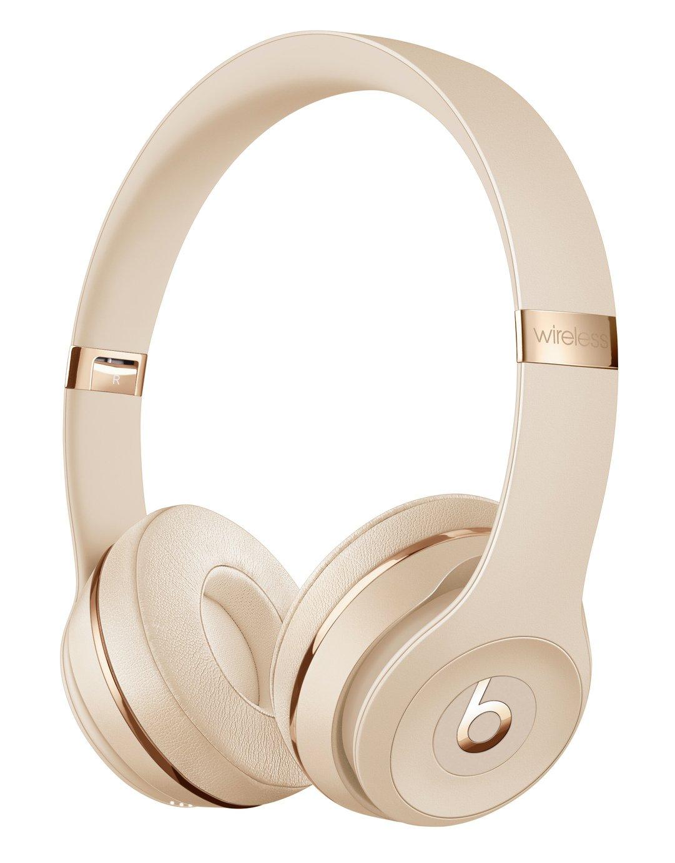 Beats By Dre Solo 3 On-Ear Wireless Headphones - Satin Gold