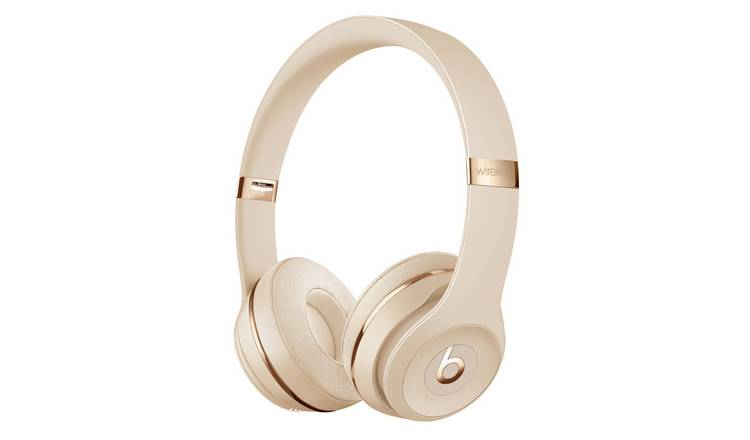 Beats By Dre Solo 3 On-Ear Wireless Headphones - Satin Gold