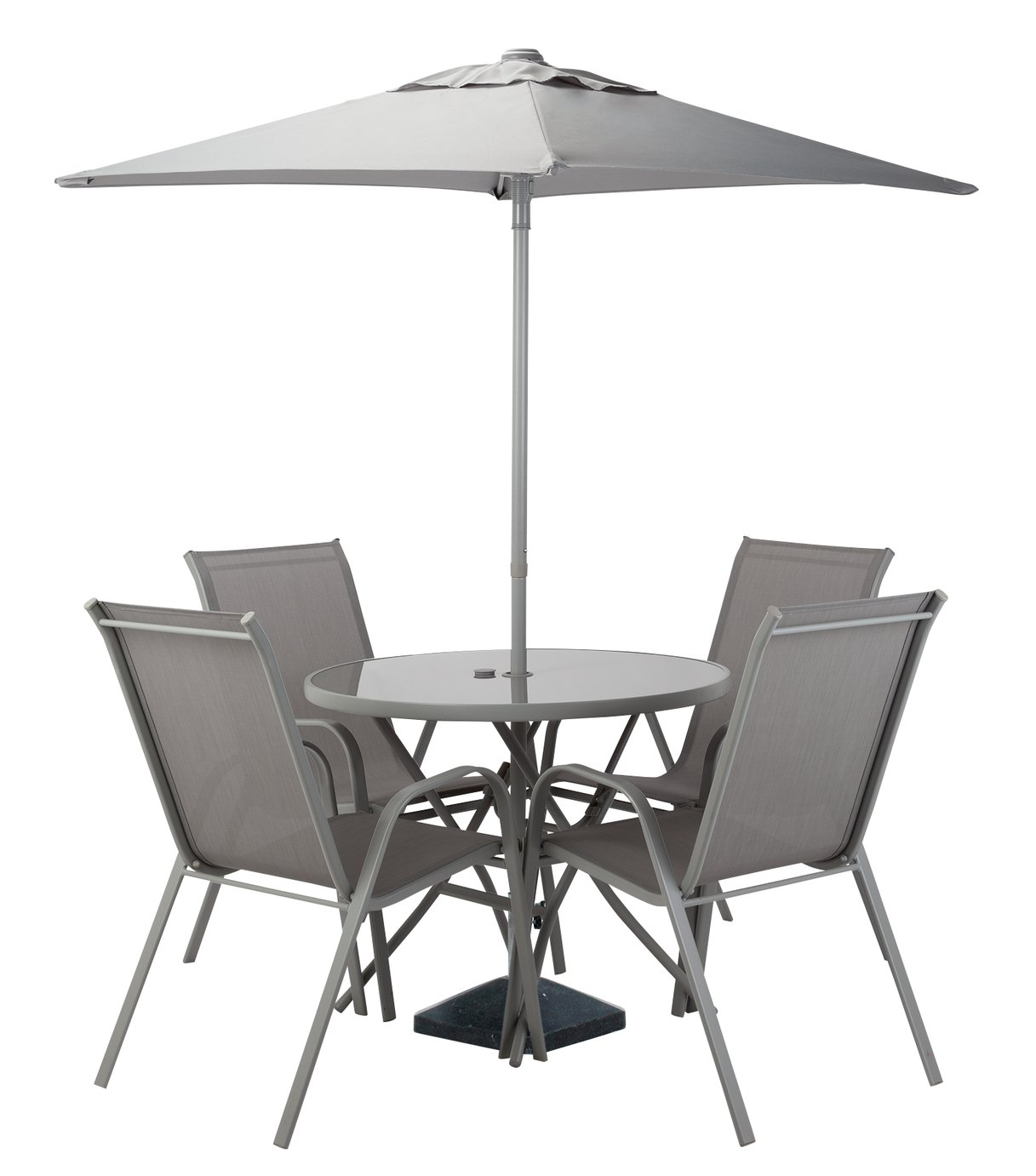 Argos Sicily Garden Table And Chairs: Sicily 6 Seater Patio Set Bronze