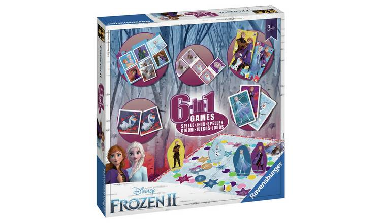 Disney Frozen 6-in-1 Games