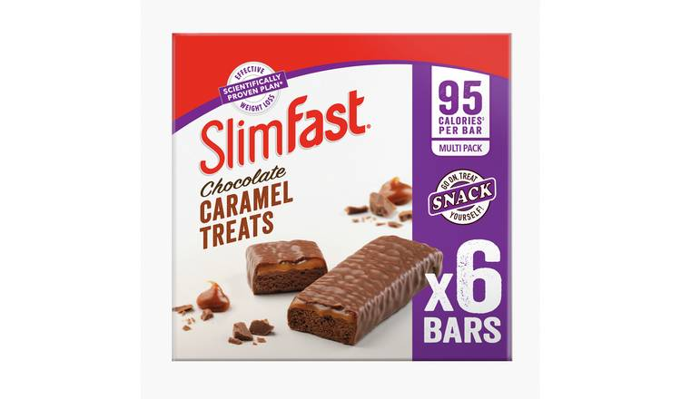 Slimfast Chocolate Caramel  Treat Bars x 24