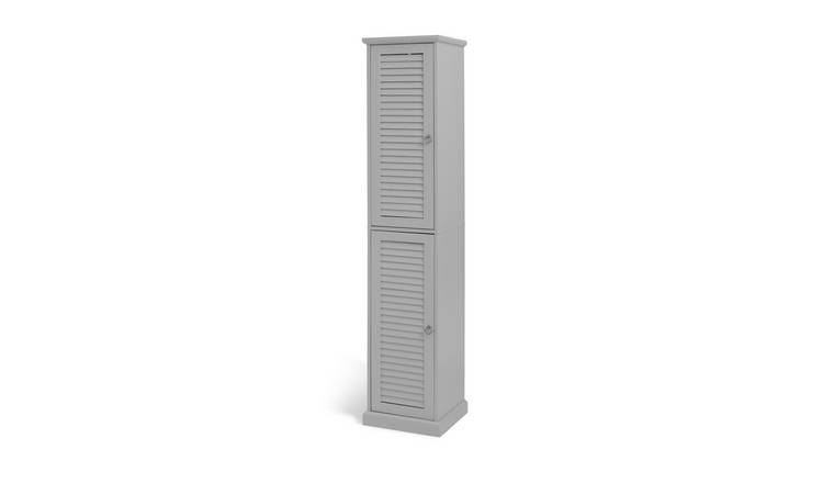 Argos Home Le Marais Louvered Tallboy - Grey