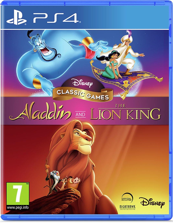 Disney's Aladdin & The Lion King PS4 Game