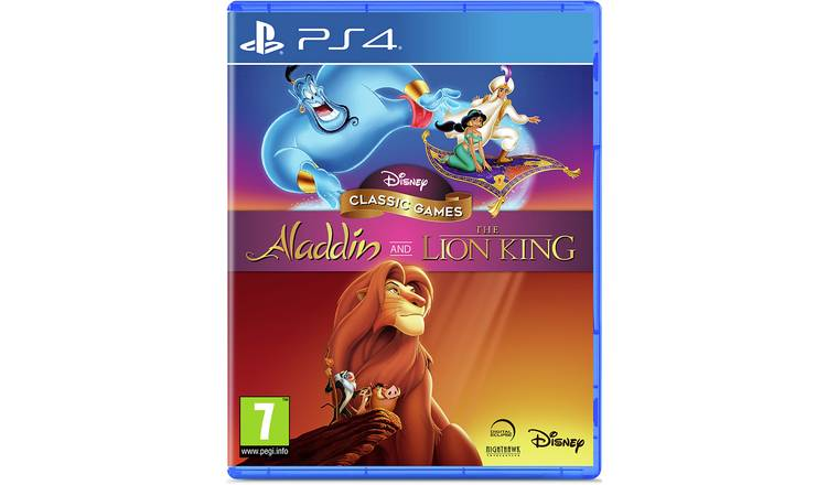 Disney's Aladdin & The Lion King PS4 Game
