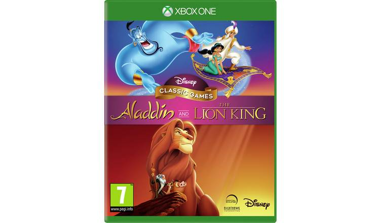 Disney's Aladdin & The Lion King Xbox One Game