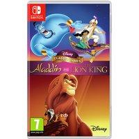 Disney's Aladdin & The Lion King Switch Game
