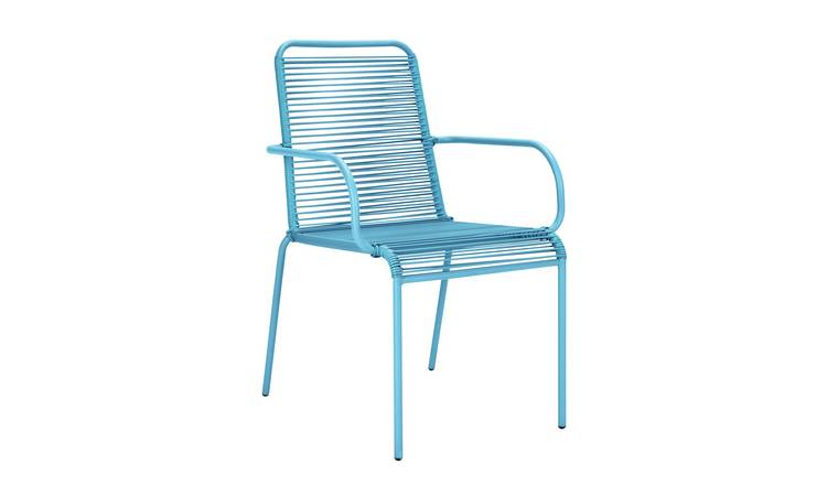 Argos Home Ipanema Garden Chair - Blue