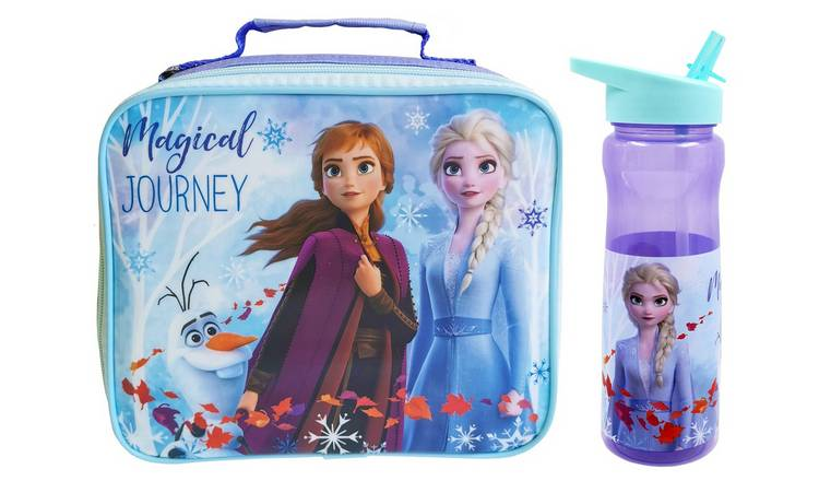Frozen 2 Lunch Bag & Bottle Set - 600ml