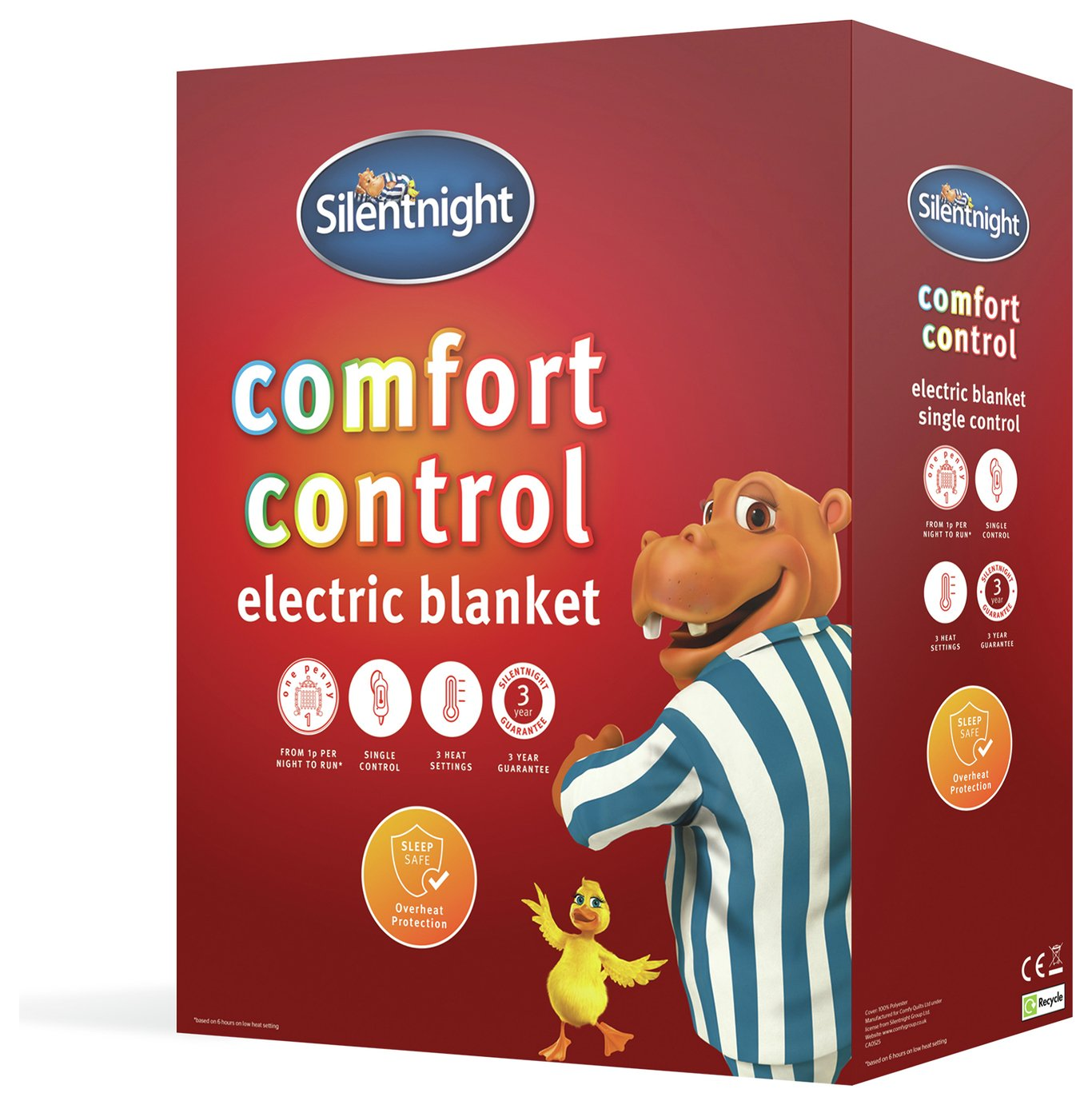 Silentnight Winter Nights Heated Underblanket - Single