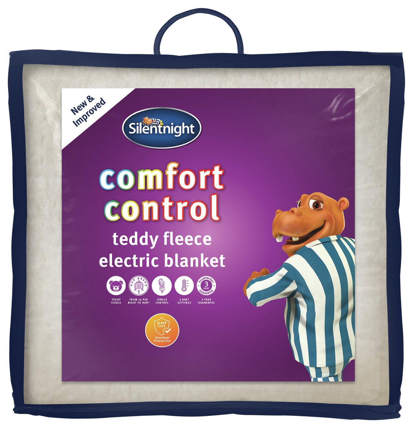 Silentnight Winter Nights Fleece Heated Underblanket -Double