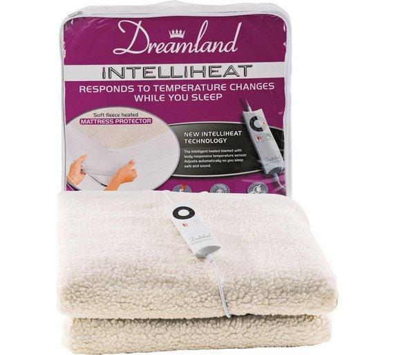 buy dreamland intelliheat heated mattress protector. Black Bedroom Furniture Sets. Home Design Ideas