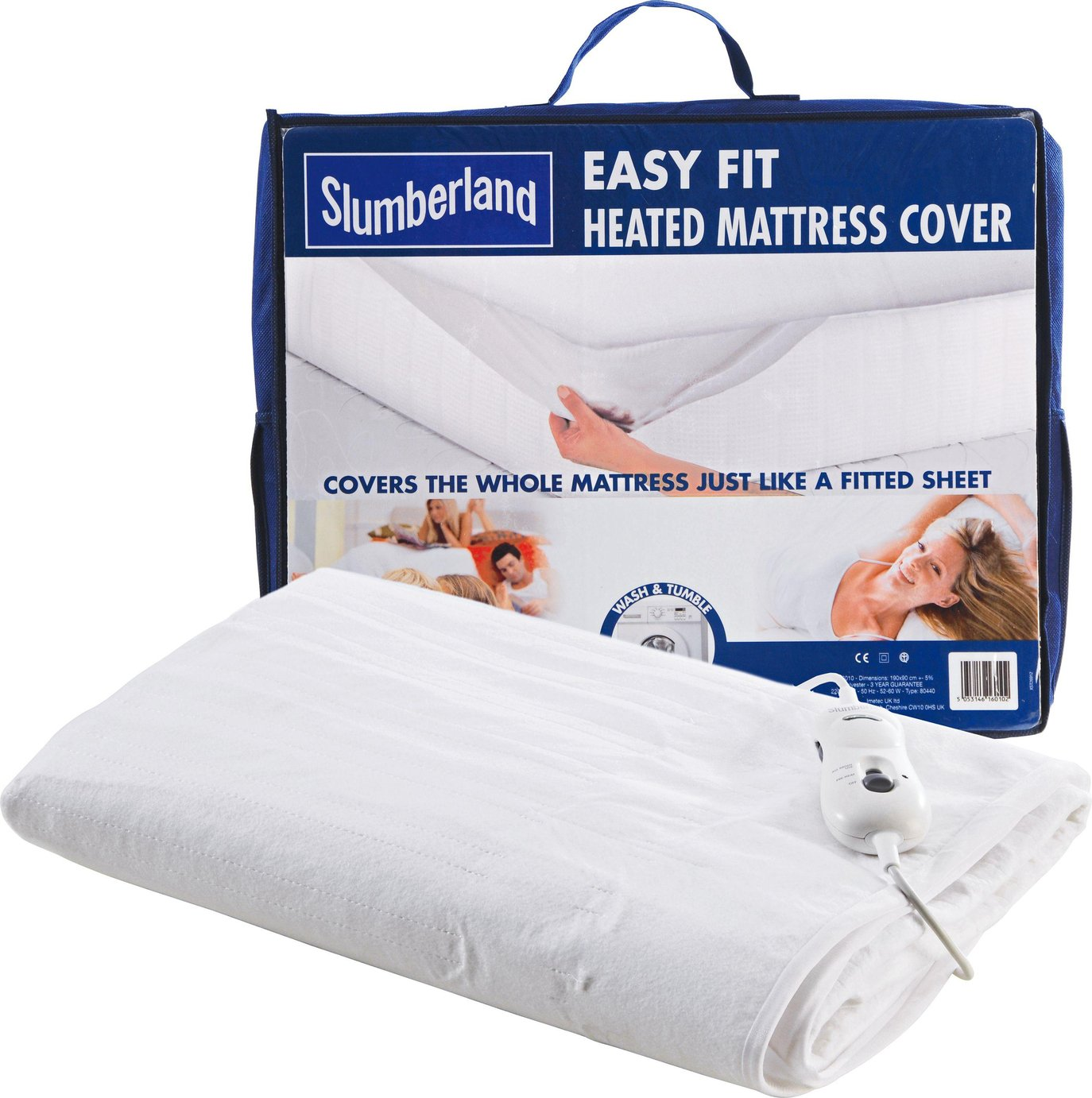 Slumberland Easy Fit Heated Mattress Cover - Double