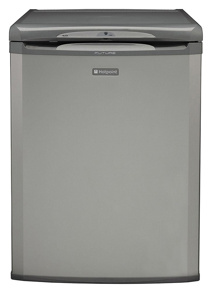 Hotpoint RLA36G Freestanding Under Counter Fridge - Graphite