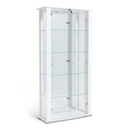 Buy Argos Home Stella 2 Door Glass Display Cabinet White