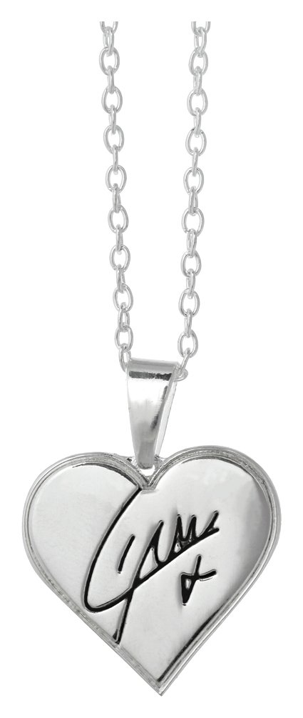 Image of 1D Liam Heart Necklace.