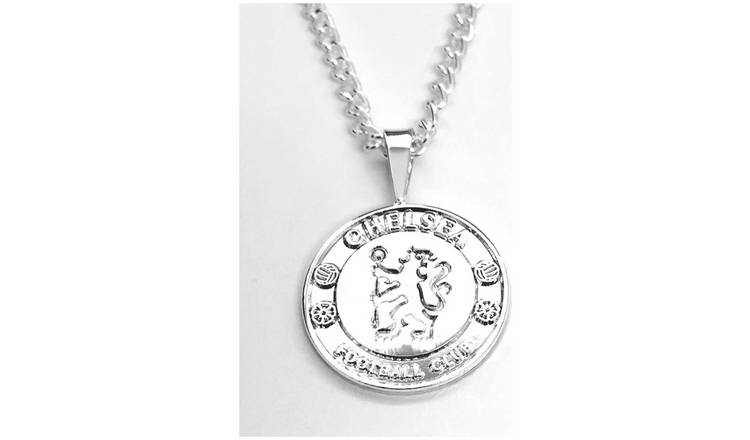 Silver Plated Chelsea Pendant and Chain.