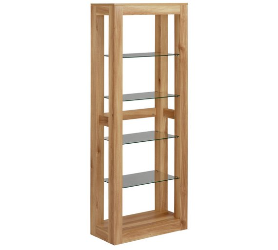 buy hygena cubic 5 shelf display cabinet display. Black Bedroom Furniture Sets. Home Design Ideas