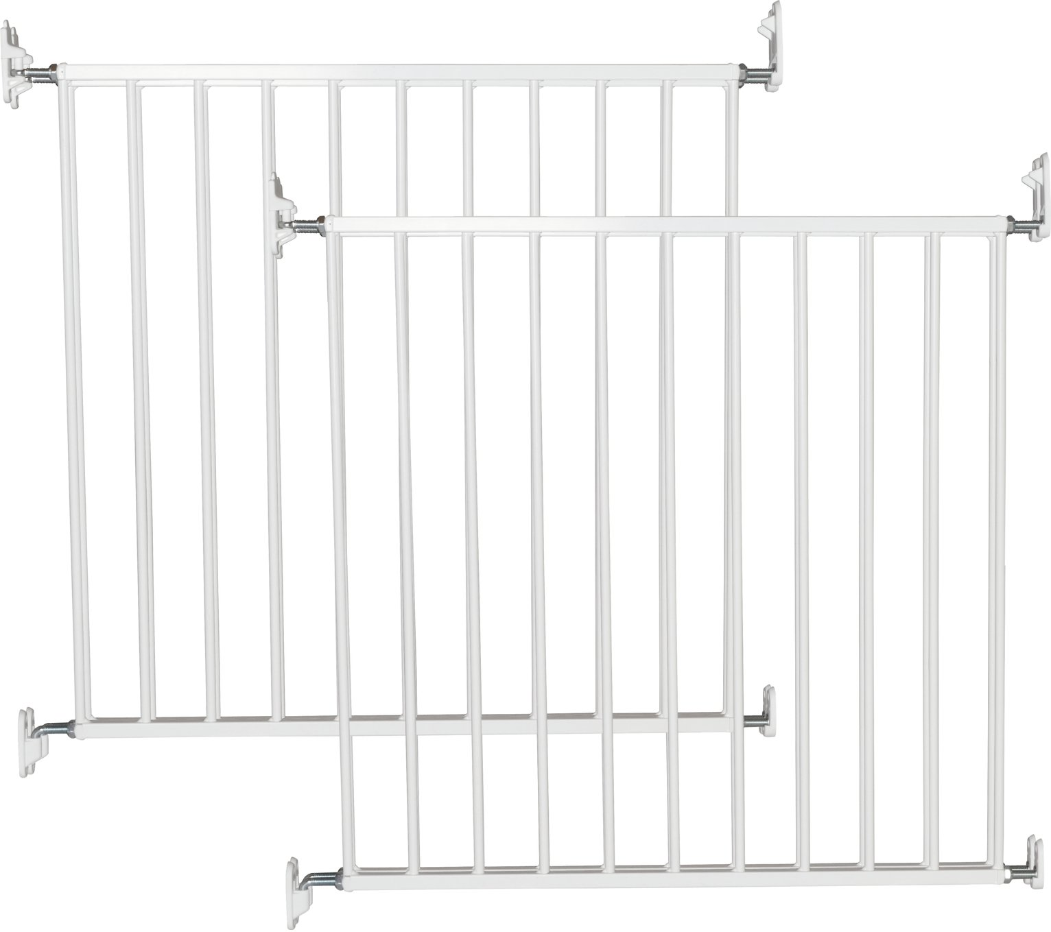 Image of BabyDan - No Trip Safety Gate - Twin Pack