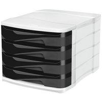 CEP 4 Drawer - Desktop Module - Black