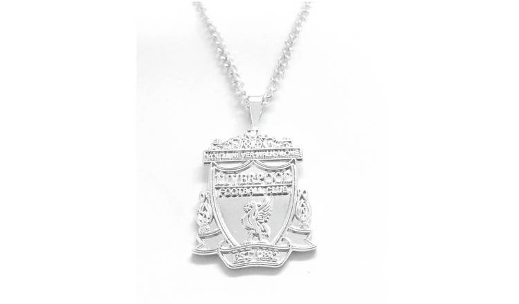 Silver Plated Liverpool Pendant and Chain.