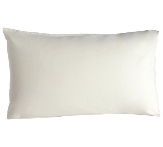 Buy HOME Cotton Cream Housewife Pillowcases