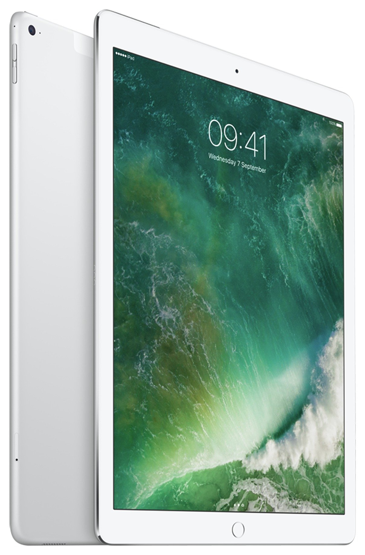 Apple iPad Pro 12 Inch Silver Tablet - 128GB. cheapest retail price