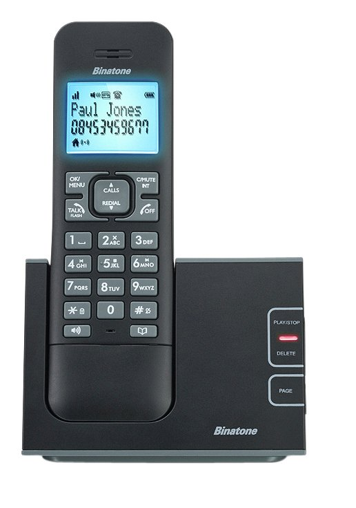 Image of Binatone - Defence - Cordless Telephone & Answer Machine - Single