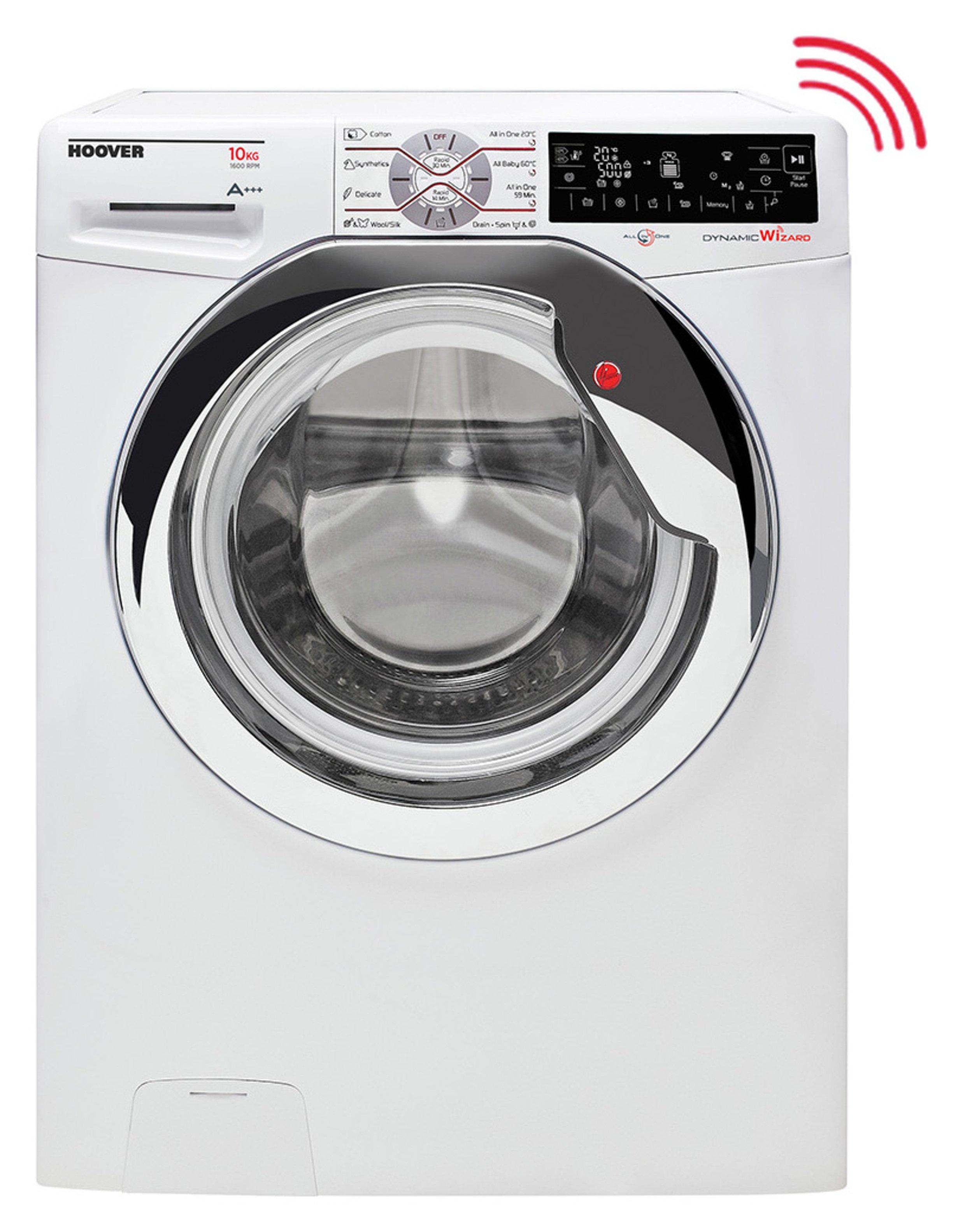 Image of Hoover - Wizard DWTL610AIW3 10KG Wi-Fi - Washing Machine