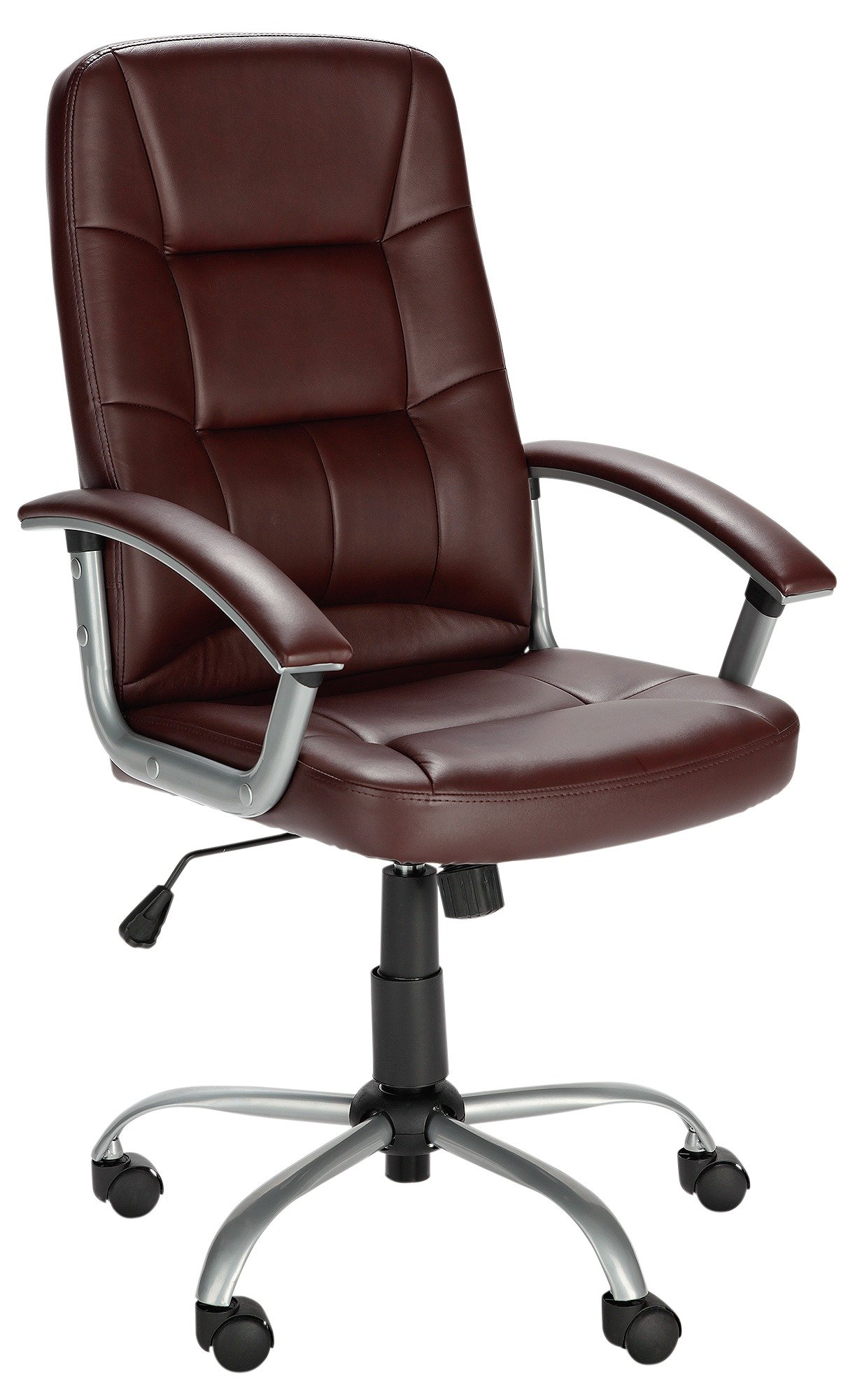 Walker Height Adjustable Office Chair   Brown451/9872