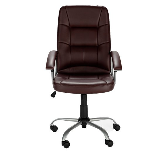 Buy walker height adjustable office chair brown at your online shop for office Argos home office furniture uk
