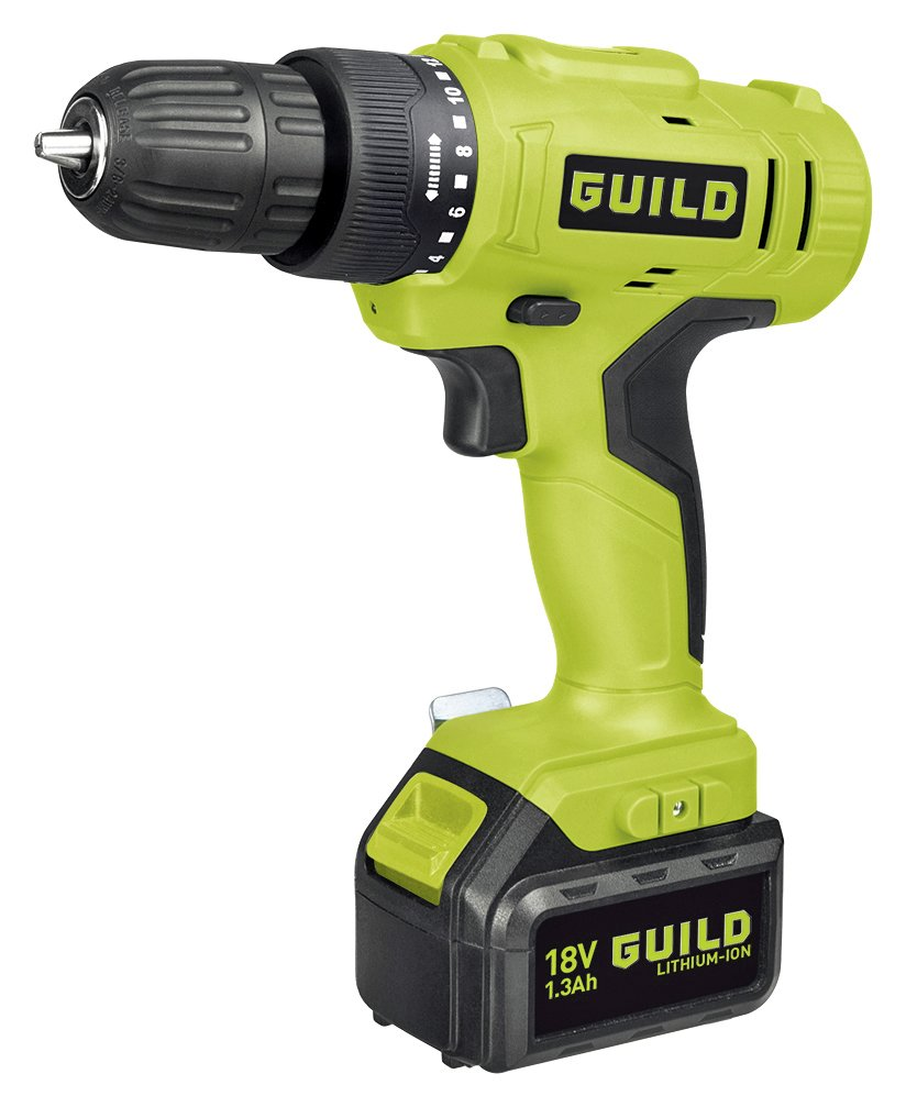 Image of Guild - 13Ah Li-Ion Drill Driver - 18V