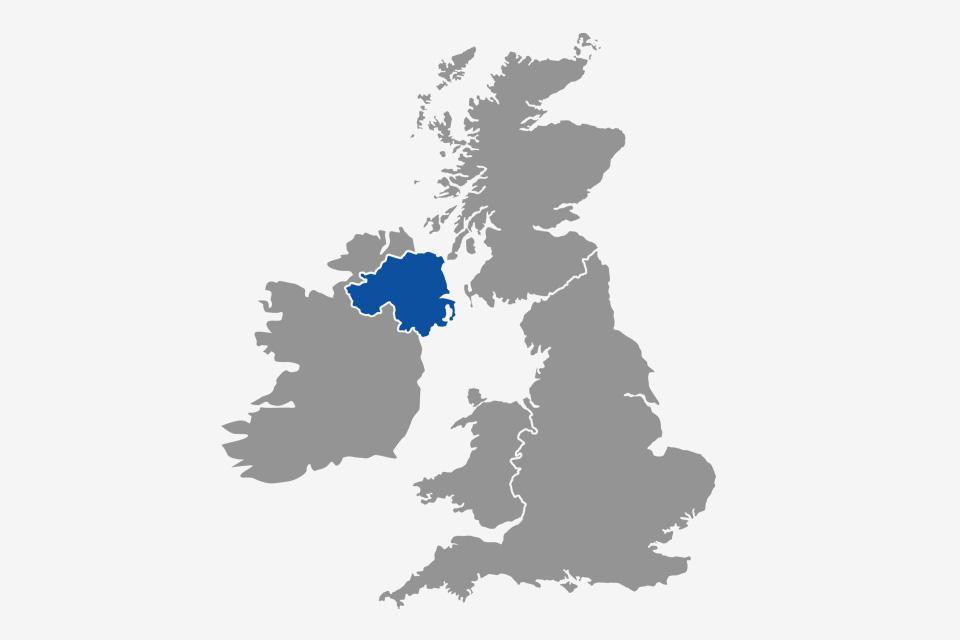 Northern Ireland.