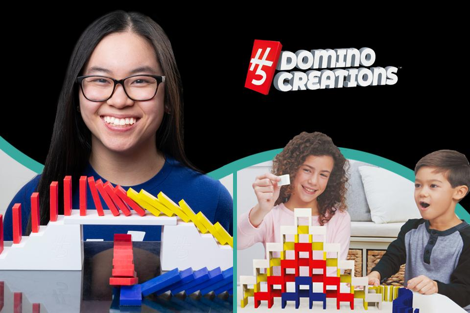 Get ready to build incredible domino creations!