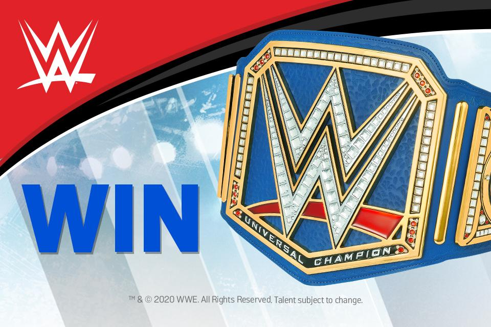 Win WWE products in the ultimate WWE competition!