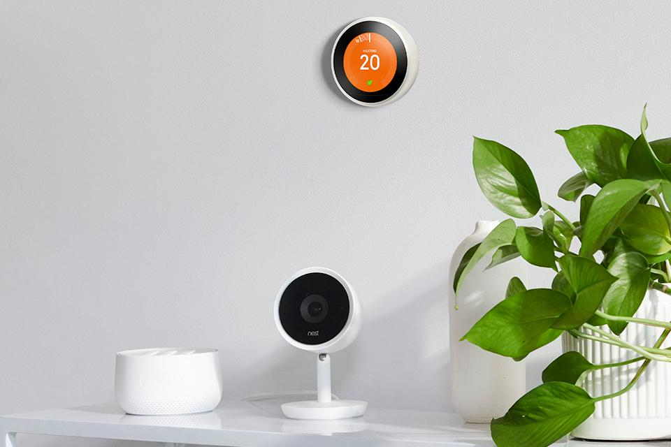 Google Nest Security and Thermostat