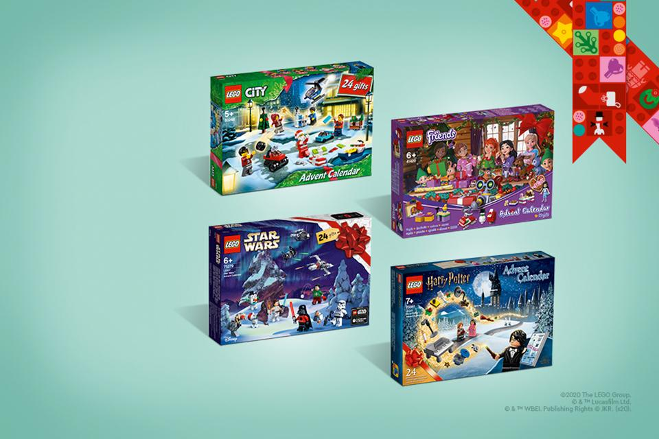 Discover LEGO® advent calendars.