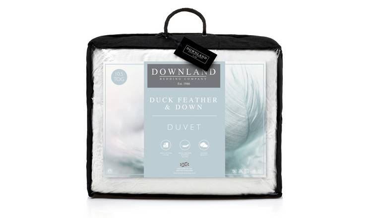 Downland 10.5 Tog Goose, Feather and Down Duvet - Double