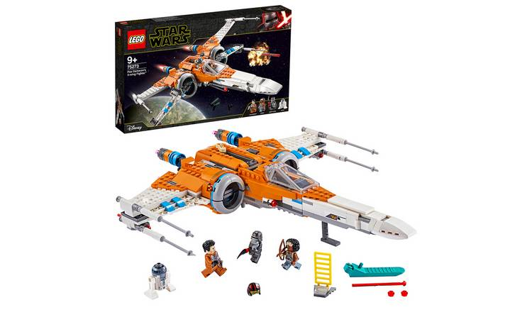 LEGO Star Wars Poe Dameron's X-wing Fighter Playset - 75273